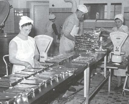 Produktion der apetito AG 1958