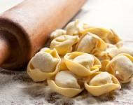 Fresh frozen tortelloni with variety in fillings.
