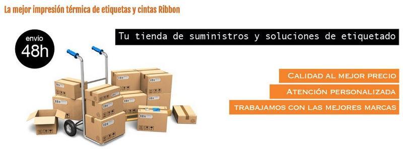 Comprar Ribbon. Tu tienda on-line de impresoras, cabezales y etuiquetas de transferencia térmica.