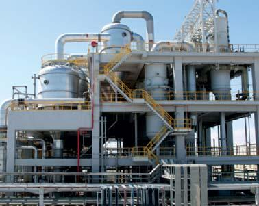 Supply, Fabrication and  Installation  of steel Process equipment for phosphoric acid plant  (360 000T/Year P2O5) in Skhira-Tunisia (49 vessels for concentration unit (850 T) and  18 vessels for dilut