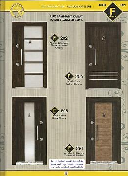 LUXURY LAMINATED STEEL DOORS