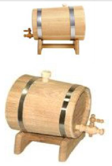 Can 3-80 L for wine and other alcohol, ukrainian oak