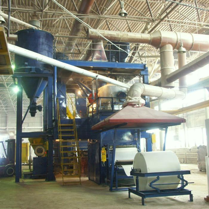 Bituminous surfacing materials Production Line