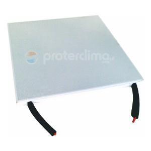 Quadrotto Metallico Radiante 600*600 personalizzabile a secondo le richieste del cliente.