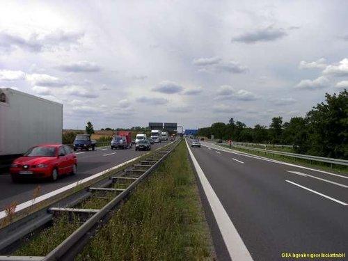 Baugrunderkundung für Autobahn
