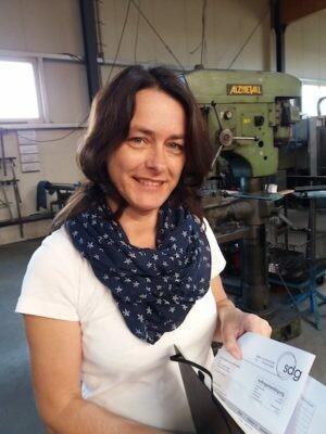 Nicole Scholz, Geschäftsführerin