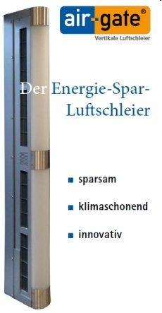 Energie-Spar-Luftschleier