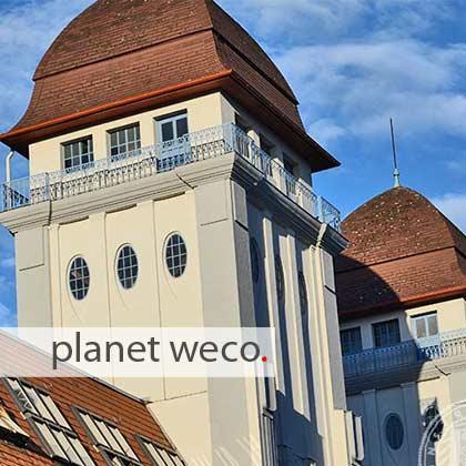 Die Werbeagentur hat ihren Sitz in Bielefeld-Mitte; dem historischen Dürkopp-Gebäude.