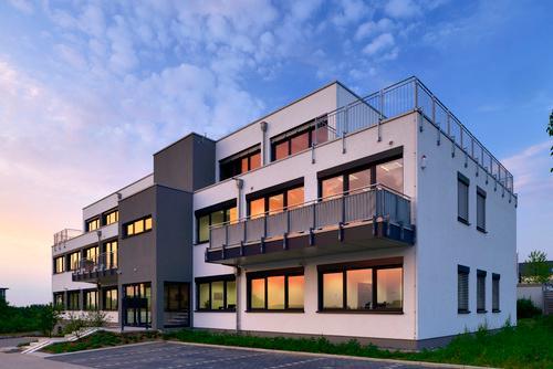Bürogebäude Modulbauweise