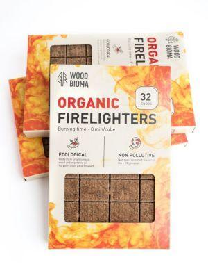 Organic firelighter