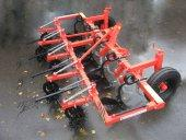 Subject to the installed operative parts the cultivator-hiller-ridger machine performs the following operations on all types of soils using different technologies.