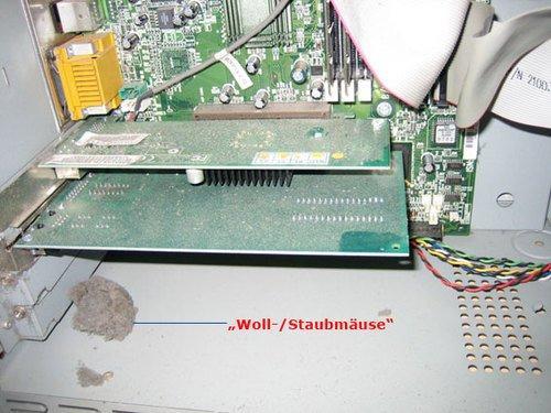 verstaubte CPU