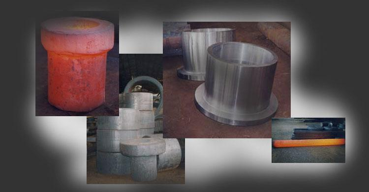 steel forgings according to Customer's drawing