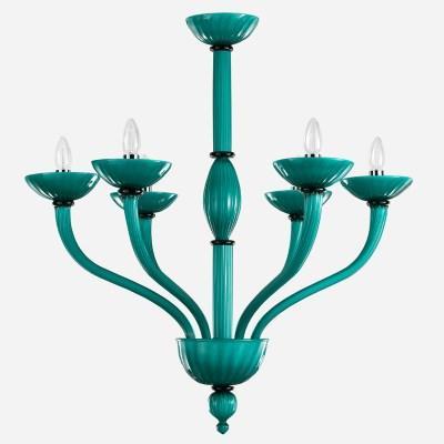 Murano glass chandelier Velvet