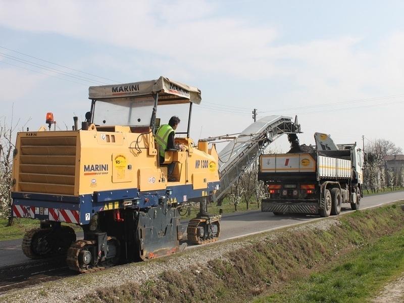 Lavori stradali asfalti emiliani