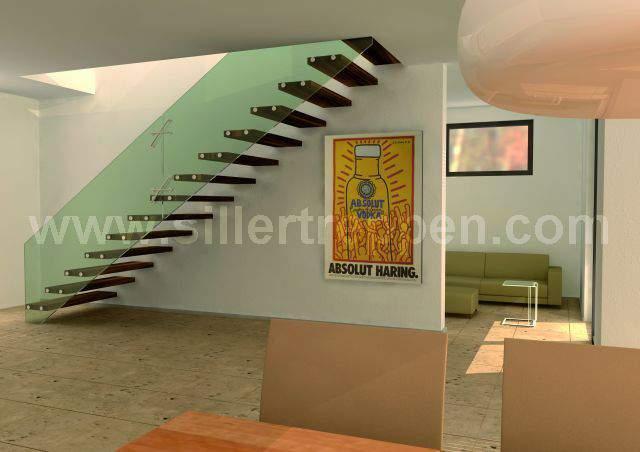 Stairs modern Mistral