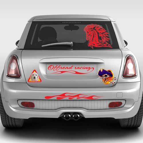 Auto stickers & decals