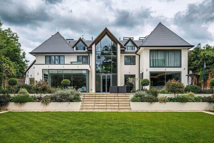 New build house north london