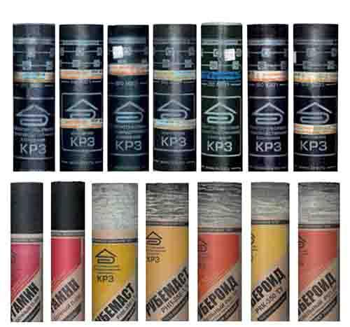 Roofing and Waterproofing materials