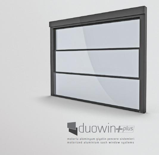 Duowin Aluminium window systems