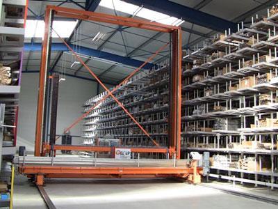 Le transstockeur TEC'UP est un système de stockage automatisé pour les profilés, barres, tubes, etc. Il permet de gagner en espace, productivité, ergonomie, gestion de stock et qualité des produits...