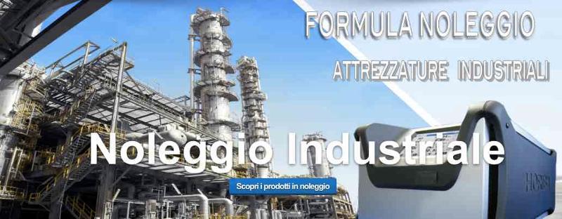 Noleggio attrezzature industriali - automazione industriale - noleggio e service anche per brevi periodi con assistenza inclusa