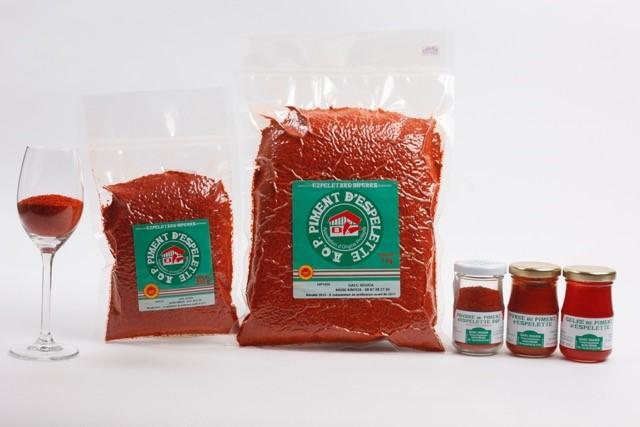 We are producers of quality Piment d' Espelette chili powder in Ainhoa, Pays-Basque France.