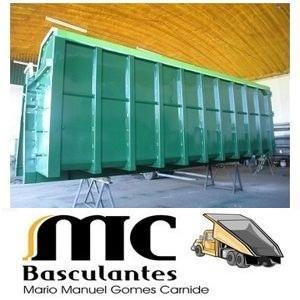 Fabricação de caixas metálicas de várias medidas para transporte de sucata