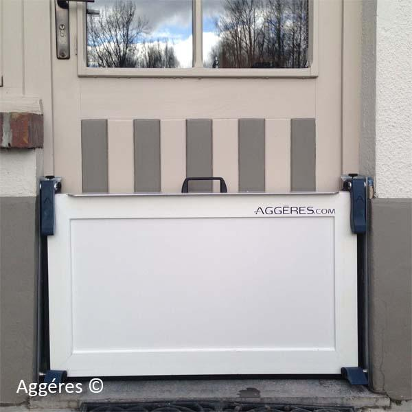 The Porta is an extremely lightweight, made to measure flood barrier. This clever flood panel is easy to install.