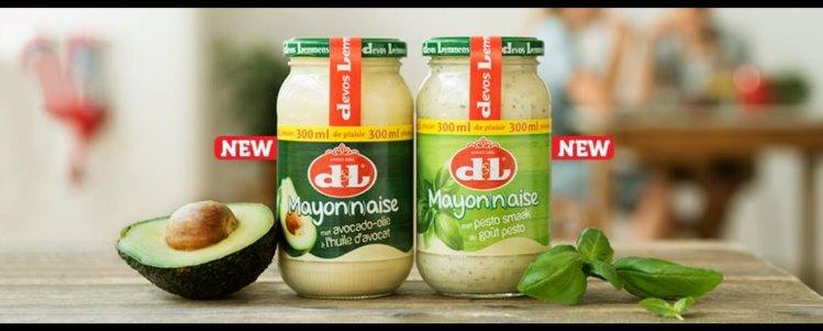 Devos & Lemmens (D&L) Avocado & Pesto Mayonnaise