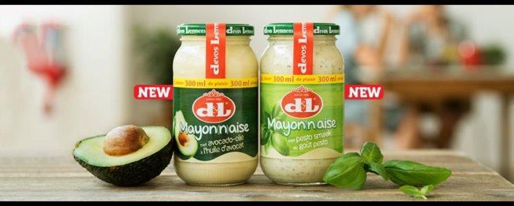 Devos & Lemmens (D&L) Avocado & Pesto Mayonnaise