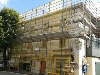 Ponteggio per ristrutturazione facciata