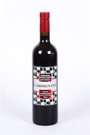 Red Wine, Vino Rosso. Sangiovese 100% vinificato solo in acciaio.
