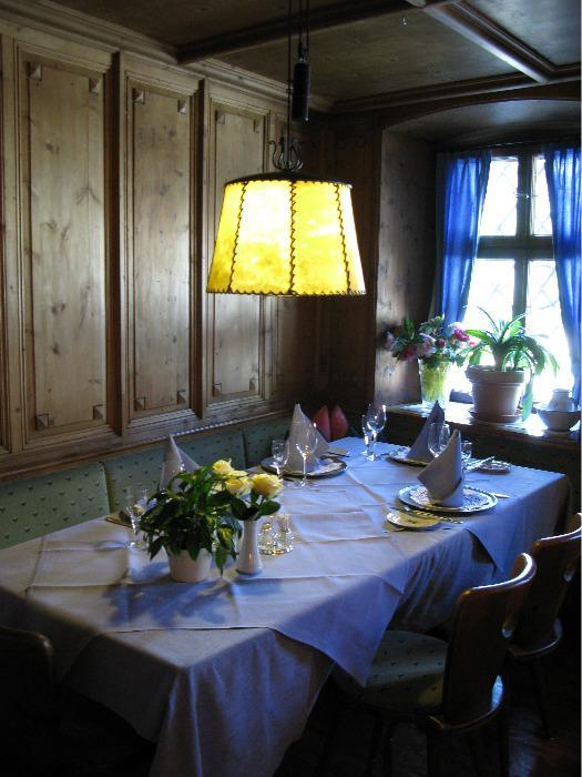 Beleuchtung für Gastronomie
