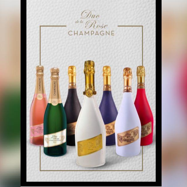 Champange frances. Edicion especial