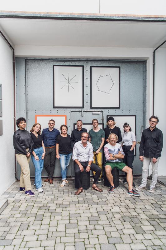 Das Team von Xbrick / wd3_spatialdesign