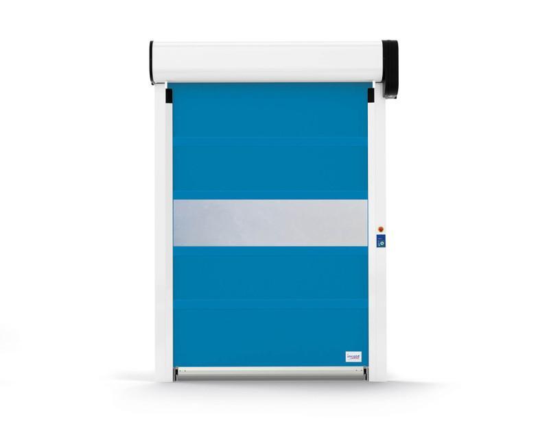 INCOLD Porta ad avvolgimento rapido per esercizio a temperatura positiva compres
