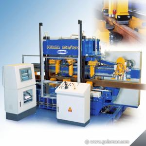 Hydraulic 4-way Mobile Straigthening Press