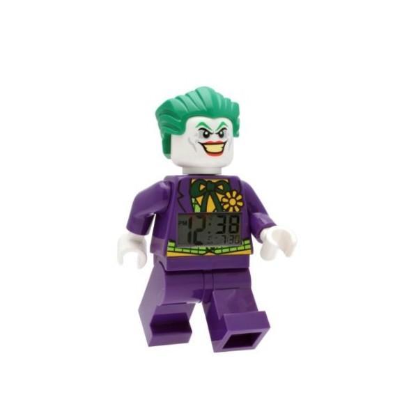 Démarrez la journée au cœur de Gotham City avec le réveil Figurine Le Joker LEGO DC Universe Super Heroes ! Ces réveils, au-delà de leur fonction de réveil, sont de véritables objets de décoration.