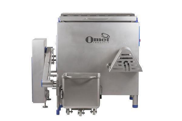 Vasta gamma di macchine per la lavorazione di prodotti alimentari quali tritacarne, impastatrici, insaccatrici, legatrici