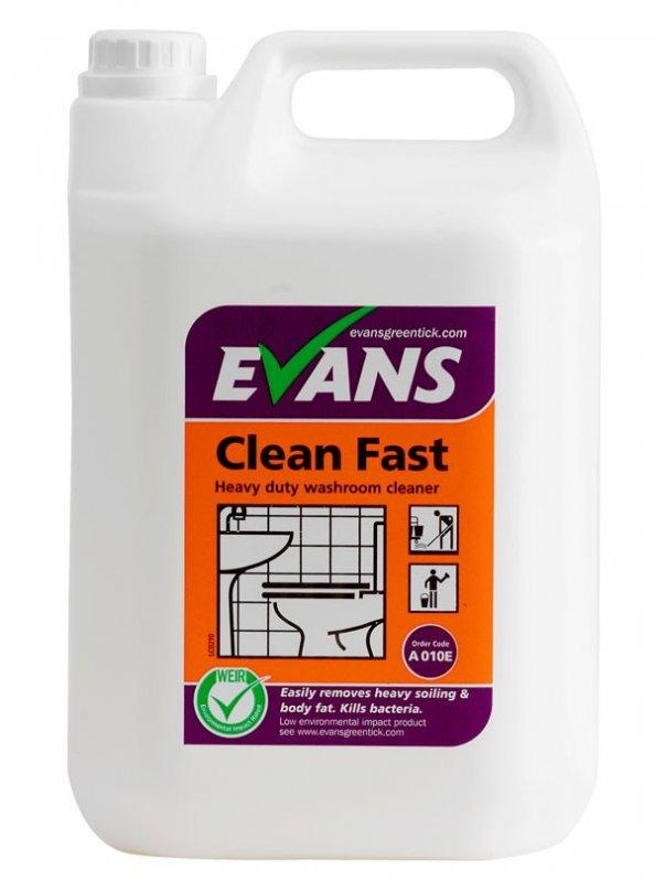 Evans Clean Fast Bathroom Cleaner