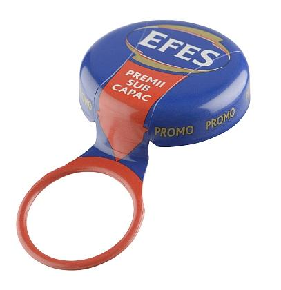 Extra visual appeal with a printed ring to match the cap. Suitable for carbonated, pasteurised and sterilised drinks. This bottle cap is easy to open, tamper evident and builds market share.