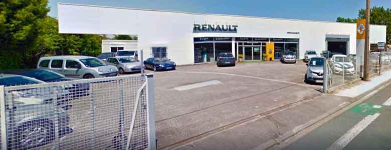 Devanture du garage Renault ETS Gasquet & Fils
