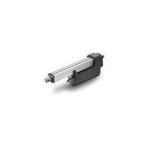 Ce vérin électrique linéaire est doté d'une protection en IP66 pour une utilisation extérieure. De plus, le vérin hors fonctionnement peut être lavé au jet haute pression (IP69-statique).