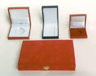 Contenitori per medaglie, targhe e gioielleria
