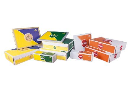 Margarine for all bakery and pastry applications : puff pastry, croissant, brioche, cake, waffle, cream, garniture, cooking, multipurpose. 2kg plate, 2,5kg slab (block)...