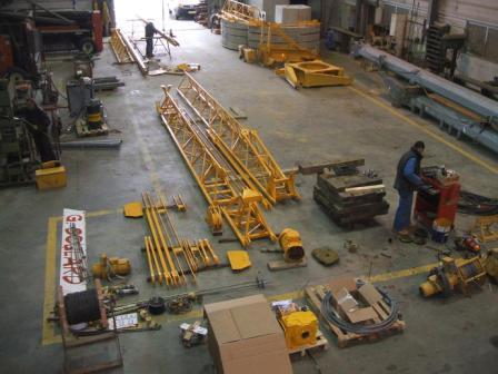 Pièces détachées pour grues de chantier
