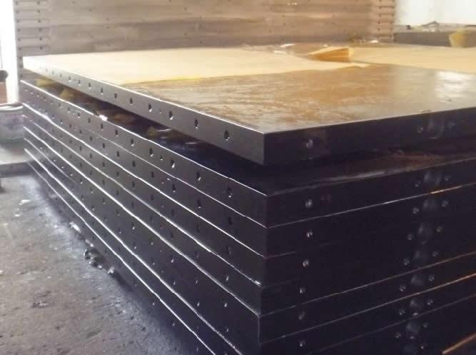"""Нагревательная плита для гидропресса этажного по производству фанеры """"квадрат"""""""