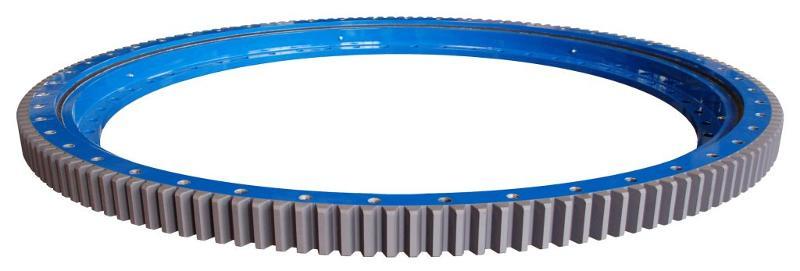 DV-B slewing bearing, blue painted