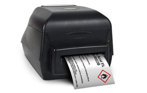 SMS-400, è un sistema forte e affidabile in grado di produrre etichette da 13mm fino 100 mm di altezza e 1 mt di lunghezza e oltre 40 differenti materiali di qualità. Il sistema ad alta definizione è